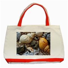 Beach Treasures Classic Tote Bag (Red)