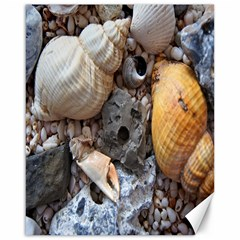 Beach Treasures Canvas 16  x 20  (Unframed)