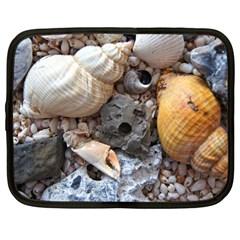 Beach Treasures Netbook Sleeve (large)
