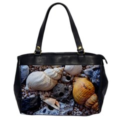 Beach Treasures Oversize Office Handbag (one Side)