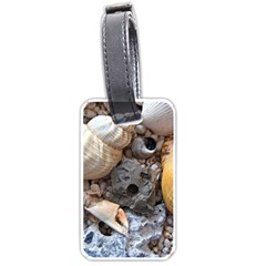 Beach Treasures Luggage Tag (Two Sides)