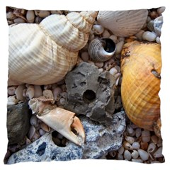 Beach Treasures Large Cushion Case (Single Sided)