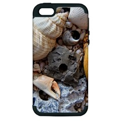 Beach Treasures Apple Iphone 5 Hardshell Case (pc+silicone)