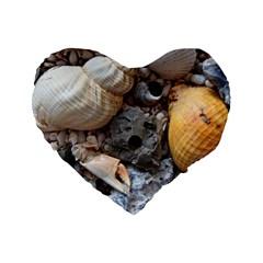 Beach Treasures 16  Premium Heart Shape Cushion