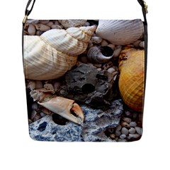 Beach Treasures Flap Closure Messenger Bag (Large)