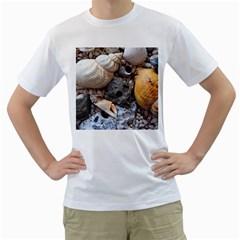 Beach Treasures Men s T-Shirt (White)