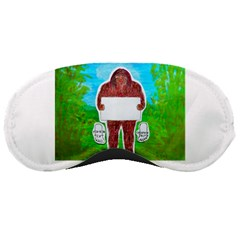 Yeh Ren Text,in Forest  Sleeping Mask