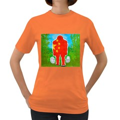 Flag Yeh Ren In Forest  Women s T-shirt (Colored)