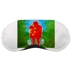 Flag Yeh Ren In Forest  Sleeping Mask