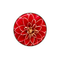 Red Dahila Golf Ball Marker 10 Pack (for Hat Clip)