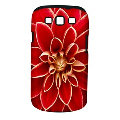 Red Dahila Samsung Galaxy S III Classic Hardshell Case (PC+Silicone)