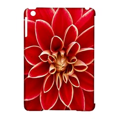 Red Dahila Apple Ipad Mini Hardshell Case (compatible With Smart Cover)