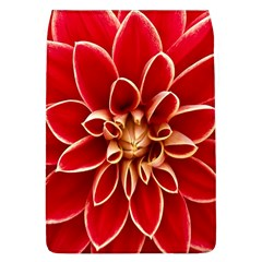 Red Dahila Removable Flap Cover (Large)