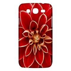 Red Dahila Samsung Galaxy Mega 5.8 I9152 Hardshell Case