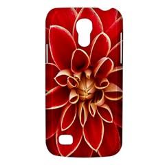 Red Dahila Samsung Galaxy S4 Mini (GT-I9190) Hardshell Case