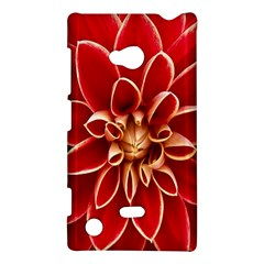 Red Dahila Nokia Lumia 720 Hardshell Case