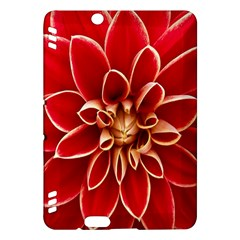 Red Dahila Kindle Fire HDX 7  Hardshell Case