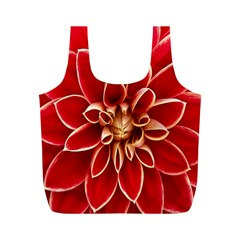 Red Dahila Reusable Bag (M)