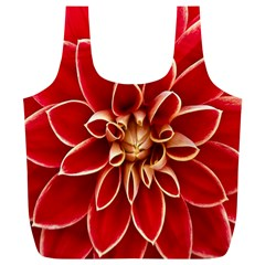 Red Dahila Reusable Bag (XL)