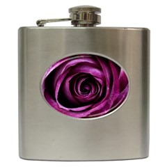 Deep Purple Rose Hip Flask
