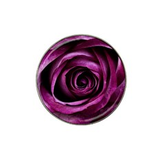 Deep Purple Rose Golf Ball Marker 4 Pack (for Hat Clip)