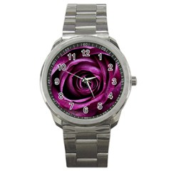 Deep Purple Rose Sport Metal Watch