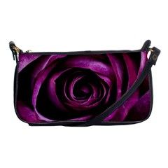 Deep Purple Rose Evening Bag