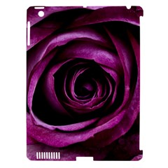 Deep Purple Rose Apple iPad 3/4 Hardshell Case (Compatible with Smart Cover)