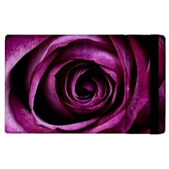 Deep Purple Rose Apple iPad 2 Flip Case