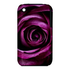 Deep Purple Rose Apple iPhone 3G/3GS Hardshell Case (PC+Silicone)