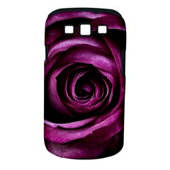 Deep Purple Rose Samsung Galaxy S III Classic Hardshell Case (PC+Silicone)