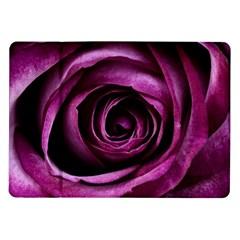 Deep Purple Rose Samsung Galaxy Tab 10.1  P7500 Flip Case