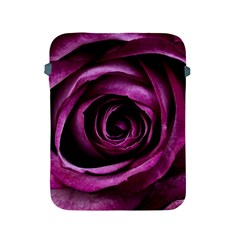 Deep Purple Rose Apple iPad Protective Sleeve