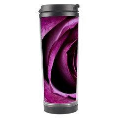 Deep Purple Rose Travel Tumbler