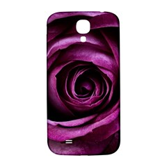 Deep Purple Rose Samsung Galaxy S4 I9500/I9505  Hardshell Back Case