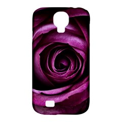 Deep Purple Rose Samsung Galaxy S4 Classic Hardshell Case (PC+Silicone)