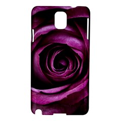 Deep Purple Rose Samsung Galaxy Note 3 N9005 Hardshell Case