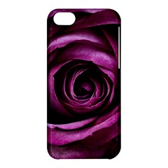 Deep Purple Rose Apple iPhone 5C Hardshell Case