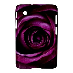 Deep Purple Rose Samsung Galaxy Tab 2 (7 ) P3100 Hardshell Case