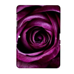 Deep Purple Rose Samsung Galaxy Tab 2 (10.1 ) P5100 Hardshell Case
