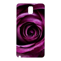 Deep Purple Rose Samsung Galaxy Note 3 N9005 Hardshell Back Case