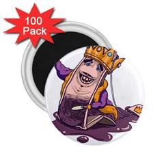 Royaltea 2 25  Button Magnet (100 Pack)
