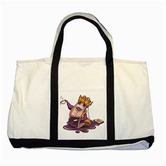 Royaltea Two Toned Tote Bag