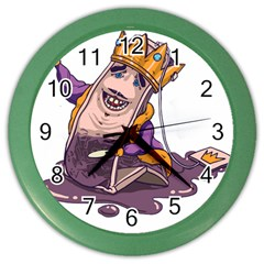 Royaltea Wall Clock (color)
