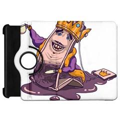 Royaltea Kindle Fire HD 7  (1st Gen) Flip 360 Case