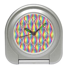 Rainbow Waves Desk Alarm Clock