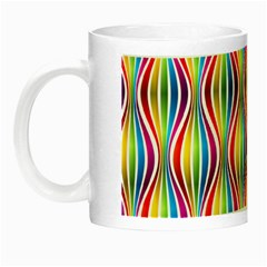 Rainbow Waves Glow in the Dark Mug