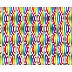Rainbow Waves Canvas 8  x 10  (Unframed)