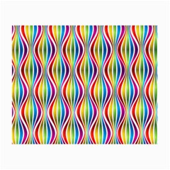 Rainbow Waves Glasses Cloth (Small, Two Sided)