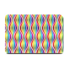 Rainbow Waves Small Door Mat